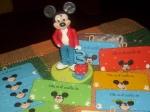 Mickey Mouse adorno torta y carteles de puerta